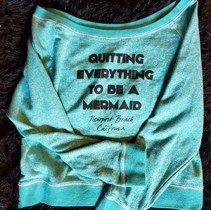 Coastal Classics Mermaid Over size Sweater XL